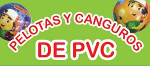 Pelotas de PVC y Canguros